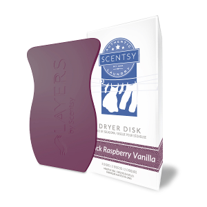 Scentsy Black Raspberry Vanilla Dryer Disks