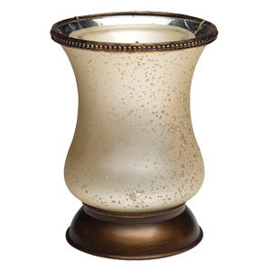 Scentsy Cream Tulip Shade Warmer