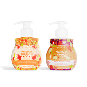 Scentsy Farmstand Pumpkin Hand Soap and Lotion Bundle