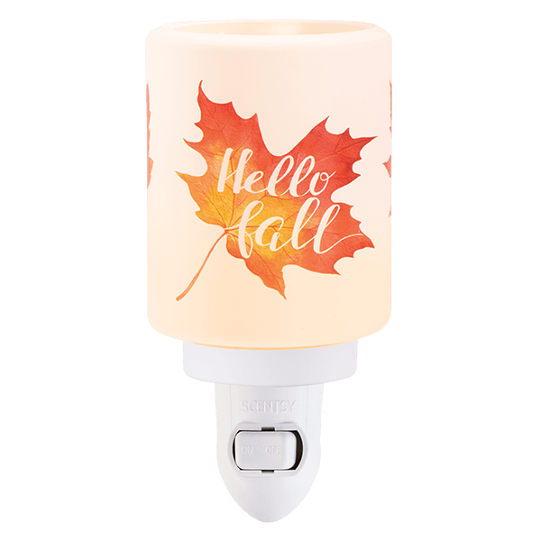 Scentsy Hello Fall Mini Plug In Warmer