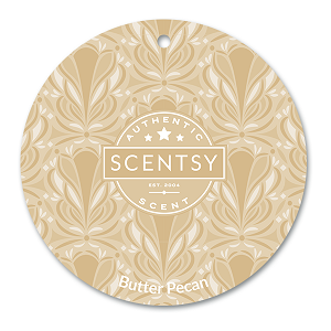 Scentsy Butter Pecan Scent Circle